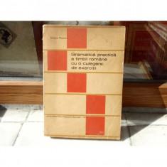 Gramatica practica a limbii romane cu o culegre de exercitii, Stefania Popescu, 1971 - Teste admitere facultate