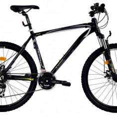 Bicicleta DHS Terrana 2625 (2016) Culoare Negru/Gri/Argintiu 457mmPB Cod:21626254569 - Mountain Bike