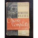 OPERE COMPLETE - DIMITRE ONCIU