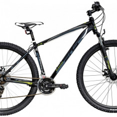 Bicicleta DHS Terrana 2925 (2016) Culoare Gri/Alb/Albastru 495mmPB Cod:21629254979 - Mountain Bike DHS, 19.5 inch