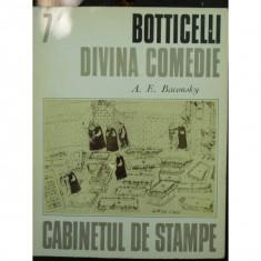 BOTTICELLI DIVINA COMEDIE - A.E. BACONSKY - Carte Istoria artei