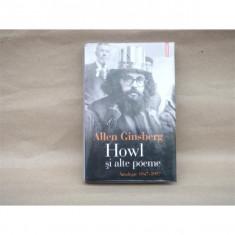 Howl si alte poeme, Allen Ginsberg - Carte Antologie