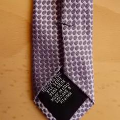Cravata Hugo Boss Made in Italy; 100% matase; 145 cm lungime totala, Culoare: Din imagine