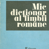 Mic dictionar al limbii romane - 27003