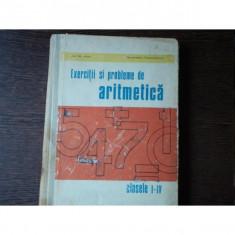 EXERCITII SI PROBLEME DE ARITMETICA - CLS I-IV, ION GH. ARTIN