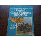 PAGINI DINTR-O ISTORIE NESCRISA - VASILE MIHALACHE