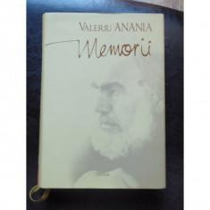 MEMORII - VALERIU ANANIA - Carte Antologie