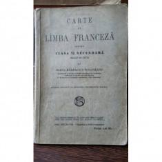 Carte de limba franceza pentru clasa a VI-a Secundara -Elena Radulescu-Pogoneanu - Carte Teste Nationale