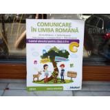 Comunicare in limba romana - Caietul elevului pentru clasa a II-a semestrul I , Mirela Mihaescu