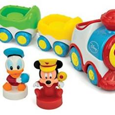 Tren Muzical Mickey Mouse - Jocuri arta si creatie Clementoni