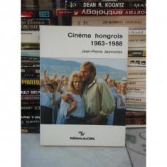 CINEMA HONGROUIS 1963-1988, JEAN-PIERRE JEANCOLAS (LB FRANCEZA) - Carte Cinematografie