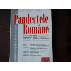 PANDECTELE ROMANE -