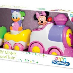 Tren Muzical Minnie Mouse - Jocuri arta si creatie Clementoni
