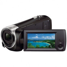 Camera Video Sony HDR-CX405 Black, senzor CMOS Exmor R, lentile superangulare Carl Zeiss Vario-Tessa