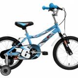 Bicicleta Copii DHS Speed 1603 (2016) Culoare AlbastruPB Cod:216160330, 9 inch