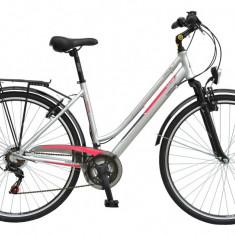 Bicicleta DHS Travel 2854 Culoare Gri – 430mmPB Cod:21528544870 - Bicicleta de oras
