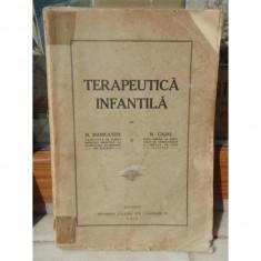 TERAPEUTICA INFANTILA , M MANICATIDE, M CAJAL