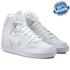 GHETE ORIGINALE 100% Nike Son of Force Mid WHITE din Franta nr 42 - Ghete barbati Nike, Culoare: Din imagine