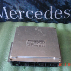 Calculator motor Mercedes W220, S320 Benzina, A0255458932 - ECU auto Bosch, Mercedes-benz, S-CLASS (W220) - [1998 - 2005]