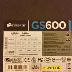Sursa Pc Corsair GS600