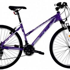 Bicicleta DHS Terrana 2622 (2016) Culoare Violet/Argintiu 457mmPB Cod:21626224557 - Mountain Bike DHS, 18 inch