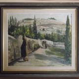Impresionant Tablou in Ulei, Peisaj, Semnat Pictor Consacrat Lasse Olofson 1961! - Pictor strain, Peisaje, Impresionism