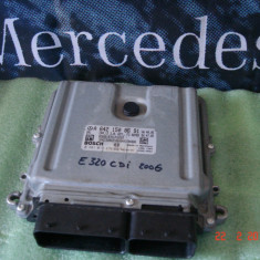 Calculator motor Mercedes E320CDI, W211, W219, 2006, A6421508691 - ECU auto Bosch, Mercedes-benz, E-CLASS (W211) - [2002 - 2008]
