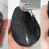Buretel cosmetic pentru corp Black Touch Body Blender - Crema autobronzanta