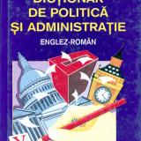 P.H. Collin - Dictionar de politica si administratie englez-roman. - 16209