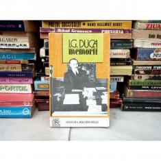 MEMORII, I. G. Duca, 1994 - Biografie