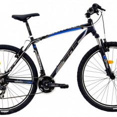 Bicicleta DHS Terrana 2723 (2016) Culoare Negru/Gri/Albastru 495mmPB Cod:21627234963 - Mountain Bike