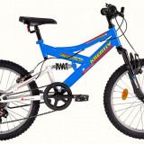 Bicicleta Kreativ 2041 (2016) culoare Albastru-AlbPB Cod:216204130 - Bicicleta copii