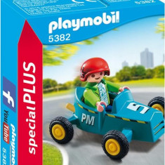 Baietel Cu Cart - Masinuta electrica copii Playmobil