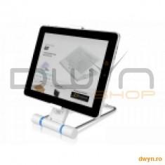 Deepcool i-Stand S3, stant multifunctional pentru iPad si Tablet PC, structura din otel si plastic - Masa Laptop
