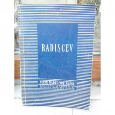 RADISCEV, TEXTE FILOZOFICE ALESE - Carte Politica