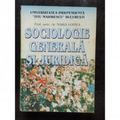 SOCIOLOGIE GENERALA SI JURIDICA - MARIN VOINEA