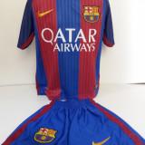 Echipament sportiv fotbal copii FC.Barcelona Messi marimea 176