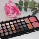 Trusa Farduri 32 culori cu pudra si blush Chocolate Palette - Trusa make up