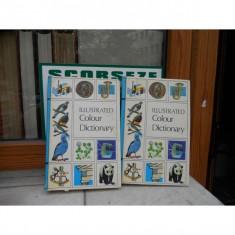 ILLUSTRATED COLOUR DICTIONARY DOUA VOLUME IN LIMBA ENGLEZA