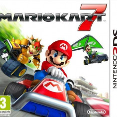 Joc Mario Kart 7 3DS - Jocuri Nintendo 3DS, Actiune, 3+, Multiplayer