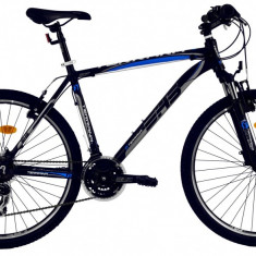 Bicicleta DHS Terrana 2623 (2016) Culoare Negru/Albastru 495mmPB Cod:21626234963 - Mountain Bike