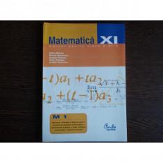Matematica M1 Manual pentru clasa a XI-a, Mihai Baluna