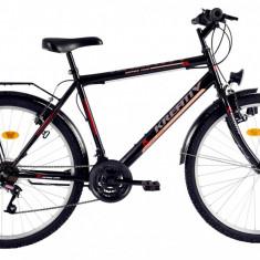 Bicicleta Kreativ 2613 (2016) culoare NegruPB Cod:216261360 - Bicicleta de oras, Otel