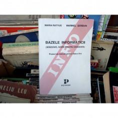 BAZELE INFORMATICII , Maria Ratyus, 1969