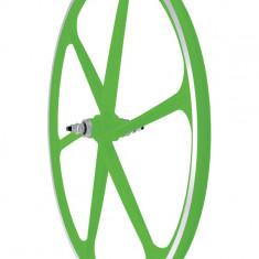 Roata Spate Fixa AeroWheels 700 Verde NeonPB Cod:40704VNPRM - Piesa bicicleta