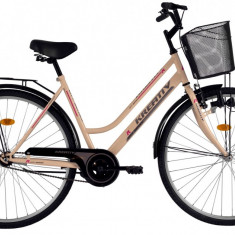 Bicicleta Kreativ 2812 (2016) culoare CremPB Cod:216281240 - Bicicleta de oras, Otel