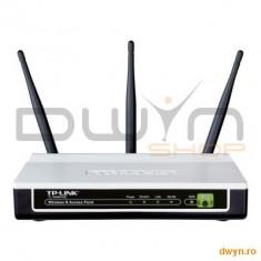 Acces Point Wireless 300Mbps Atheros, 3T3R, 2.4GHz, Passive PoE, QSS Push Button, 3 antene detasabil