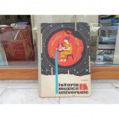 Curs de istoria muzicii universale , Gh.Merisescu , vol 2, 1973