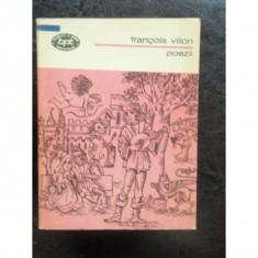 POEZII - FRANCOIS VILLON - Carte poezie