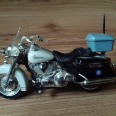Maisto Harley Davidson Arkansas State Police Motorcycle 1:18 scale Series 9